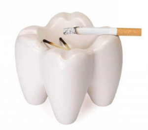Зубы и табак