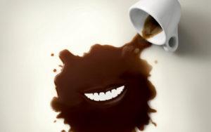 Налет на зубах от кофе